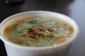 Food Fancy – Pork & Oyster Congee