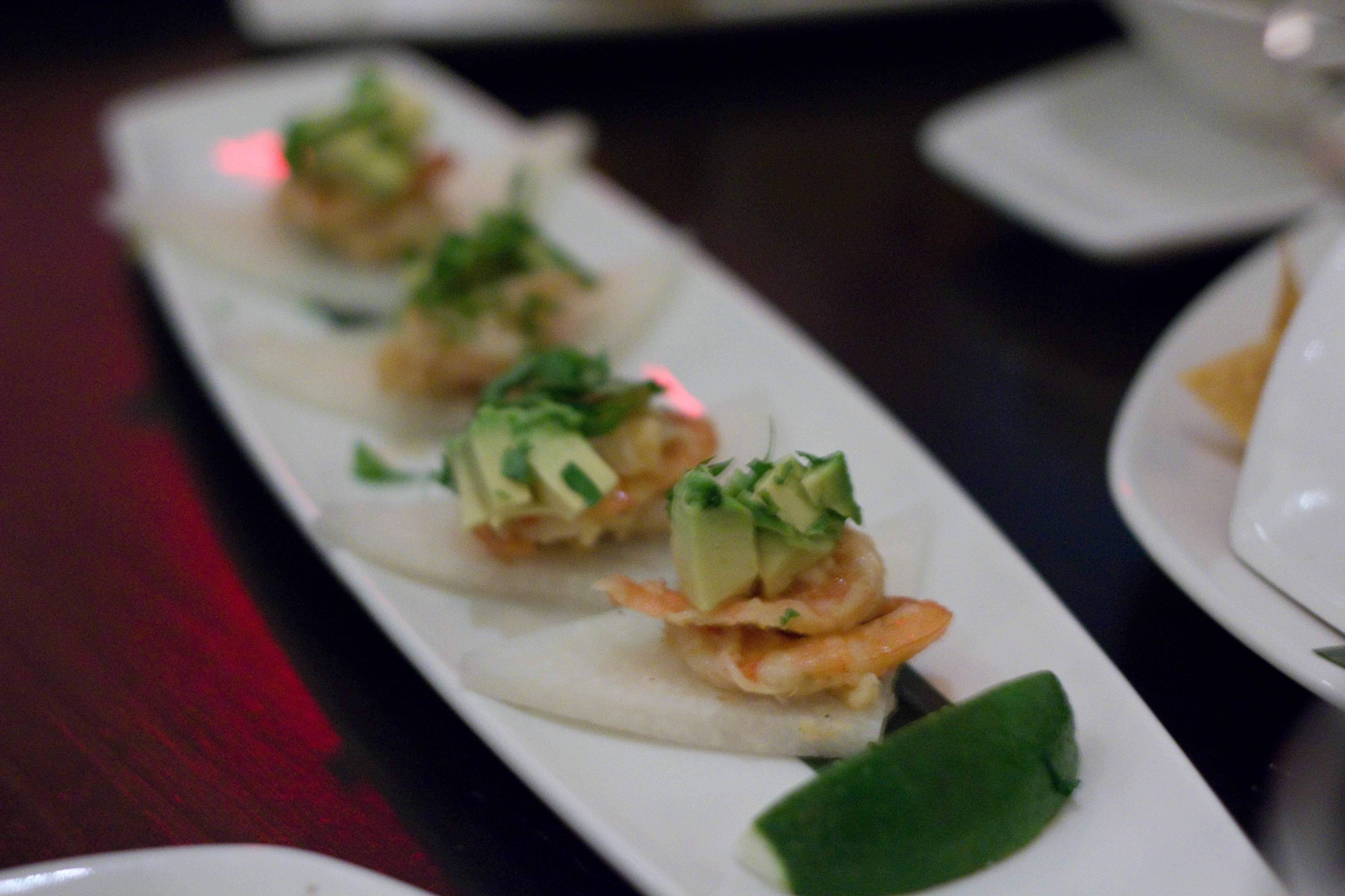 Grilled Mazatlan Blue Shrimp