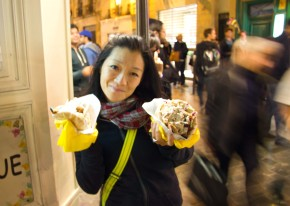 When life gives you bad stomach… Eat fallafel!