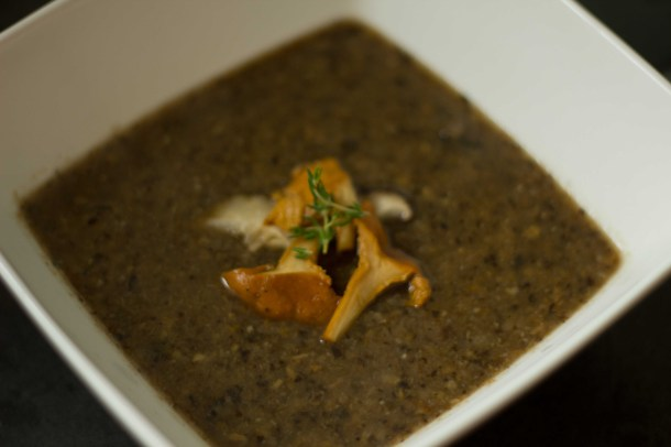 the real mushroom soup (from JamieOliver.com)
