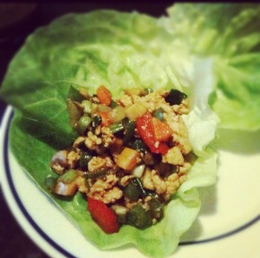 Quick and Delicious Lettuce Wrap