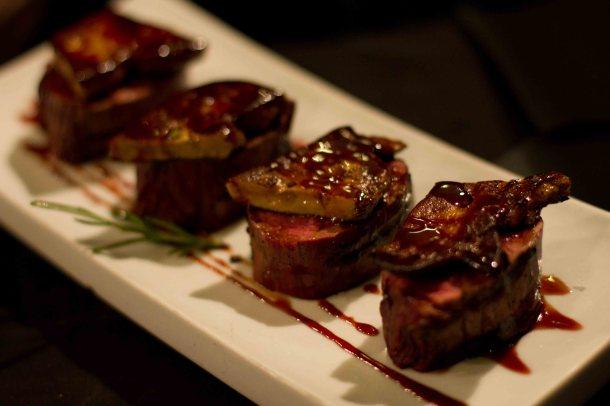 """""""Bar Mut Barcelona foie steak"""""""
