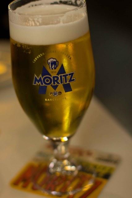 """""""Tapac 24 Barcelona Moritz beer"""""""