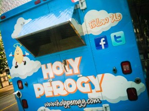 Food Truckin' Holy Perogy