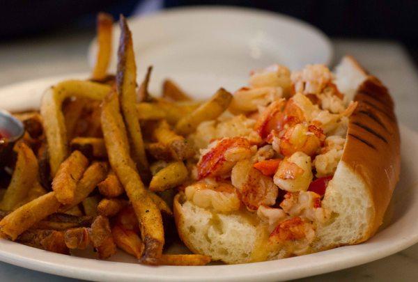 """Neptune Oyster Boston Lobster Roll"""
