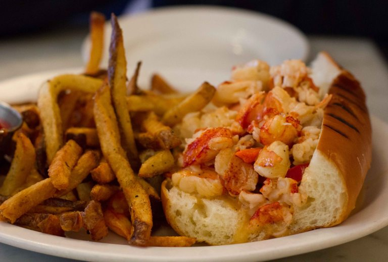 """Neptune Oyster Boston Lobster Roll"""