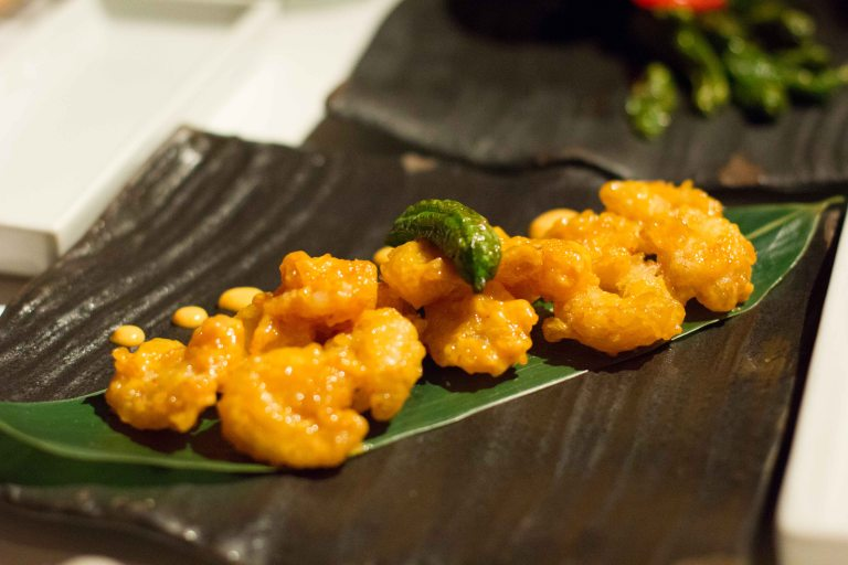 """Katsuya rock shrimp tempura"""