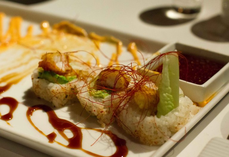 """""""Katsuya shrimp tempura roll"""""""