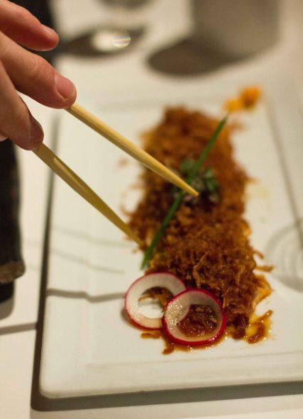 """Katsuya Spicy tuna"""