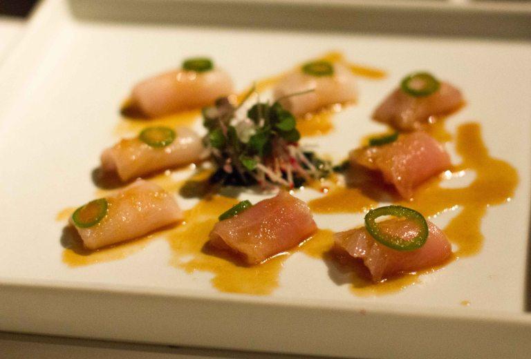 """Katsuya yellowtail sashimi"""