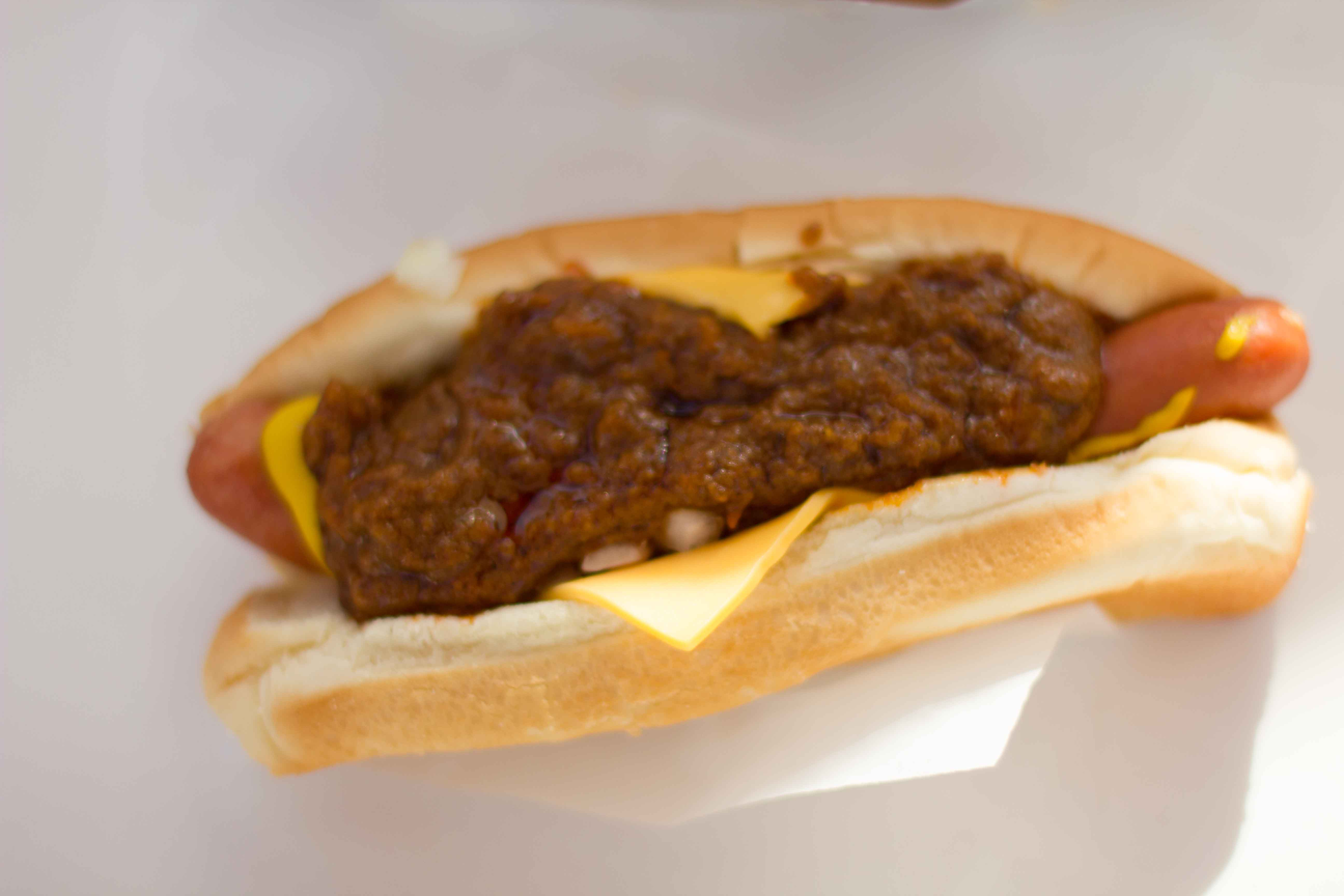 dogs bison chili cheese dogs bison chili cheese dogs place one hot dog ...