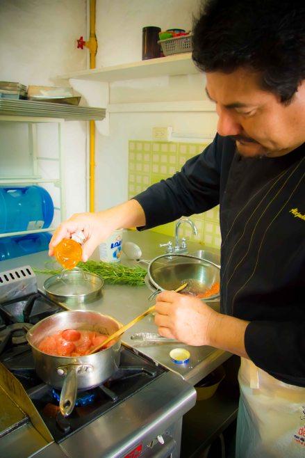 """Alejandro Ruiz Taller de Cocina tomato marmalade"""