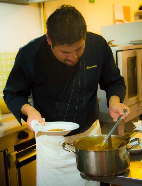 Alejandro Ruiz Taller de Cocina prep