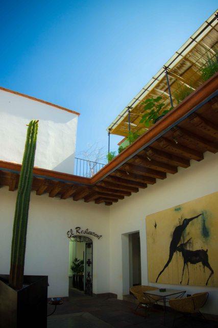 """""""Casa Oaxaca Outside"""""""