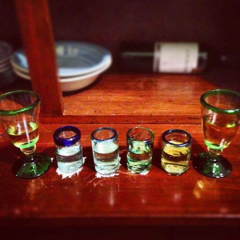 "Henry always sets up a ""House"" mezcal tasting on my visits to Oaxaca."