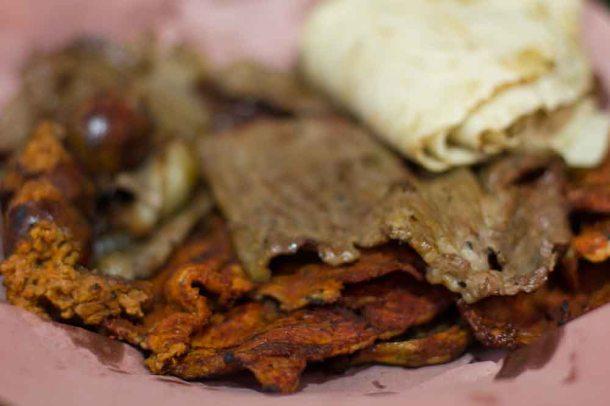 """""""Oaxaca 20 Noviembre market meat:"""
