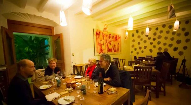 """Oaxaca Pitiona dining room"""