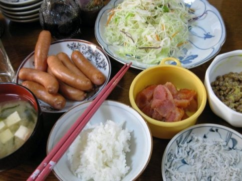 """The """"puchi"""" sausages are a great addition to breakfast too."""