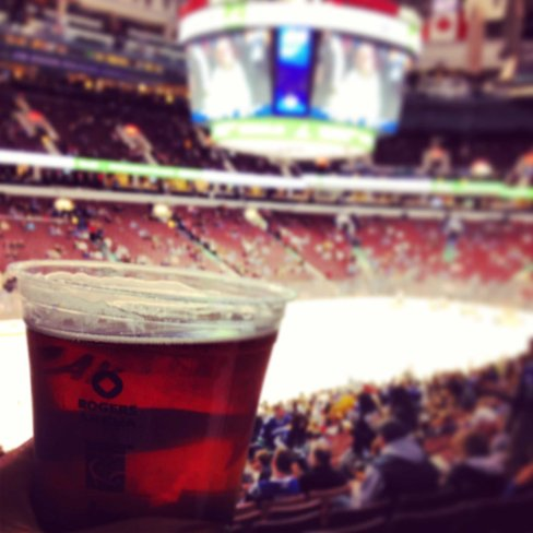 Deliciousness... Day 10 - Hockey Night in Canada beer anticipating my A team play my B team
