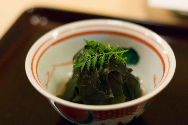 """Rakutei Tokyo tempura appetizer"""