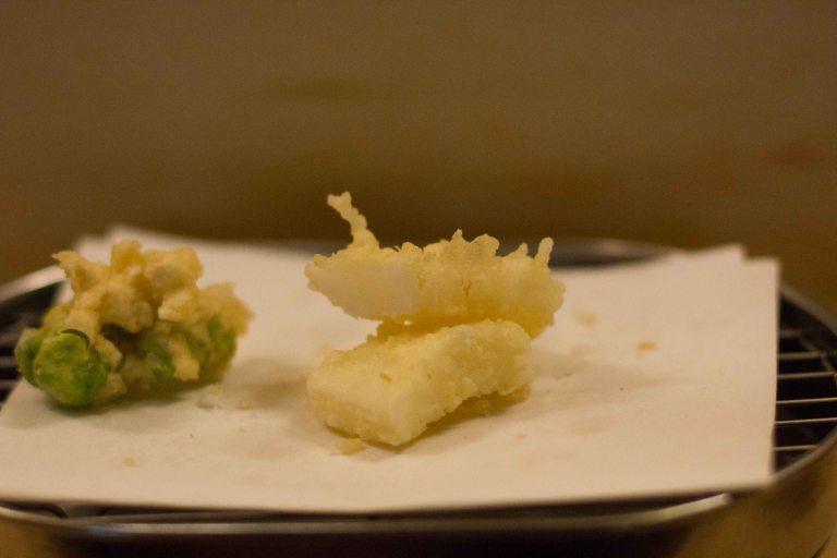 """""""Rakutei Tokyo tempura ika"""""""