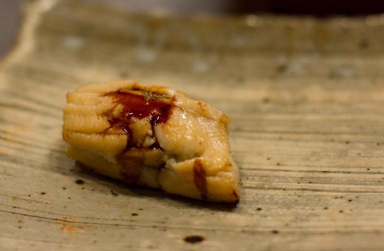 """""""Sushi Kanesaka Tokyo anago"""""""
