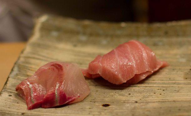 Sushi Kanesaka Tokyo chu toro