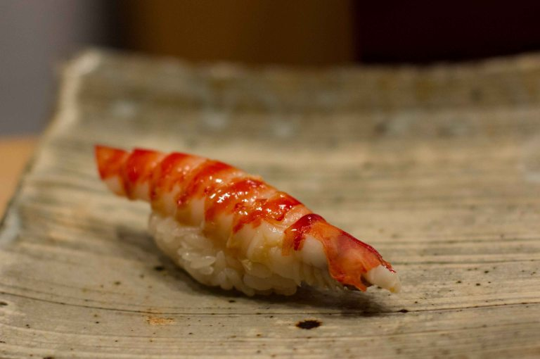 """Sushi Kanesaka Tokyo ebi"""