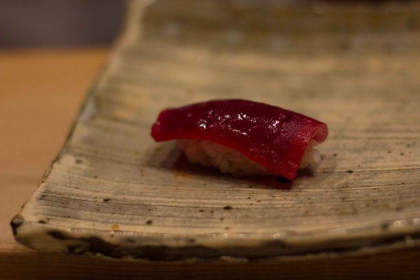 """Sushi Kanesaka Tokyo maguro"""