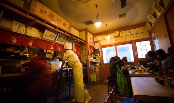 """""""Endo sushi Osaka fish market"""""""