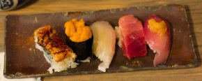 Eating sushi at Japan's other fishmarket