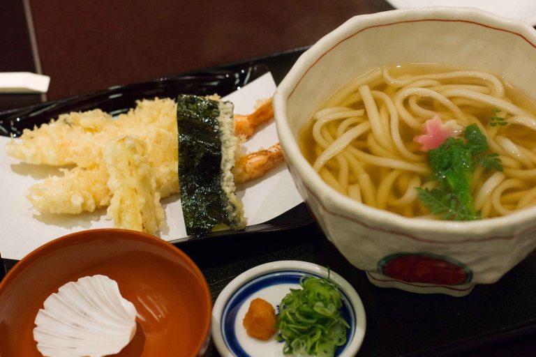 """Mimiu tempura udon"""