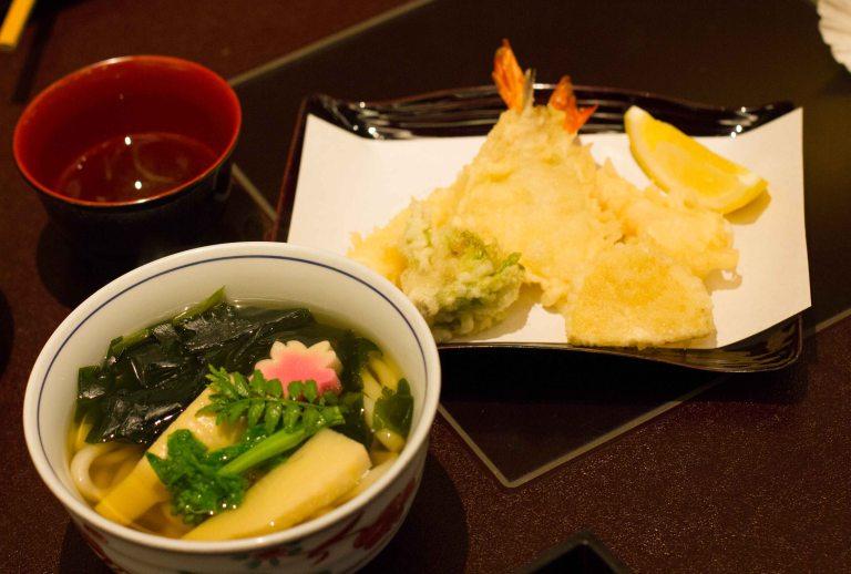 """Mimiu Osaka dinner udon"""