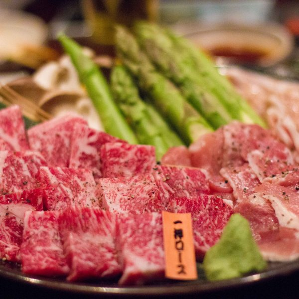 """Issunboushi Kyoto Yakiniku beef"""