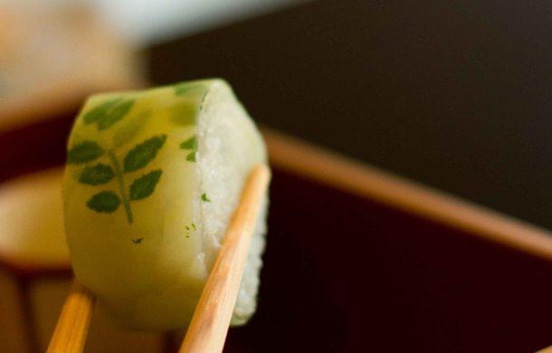 """""""Kikunoi Kyoto kinome sushi"""""""