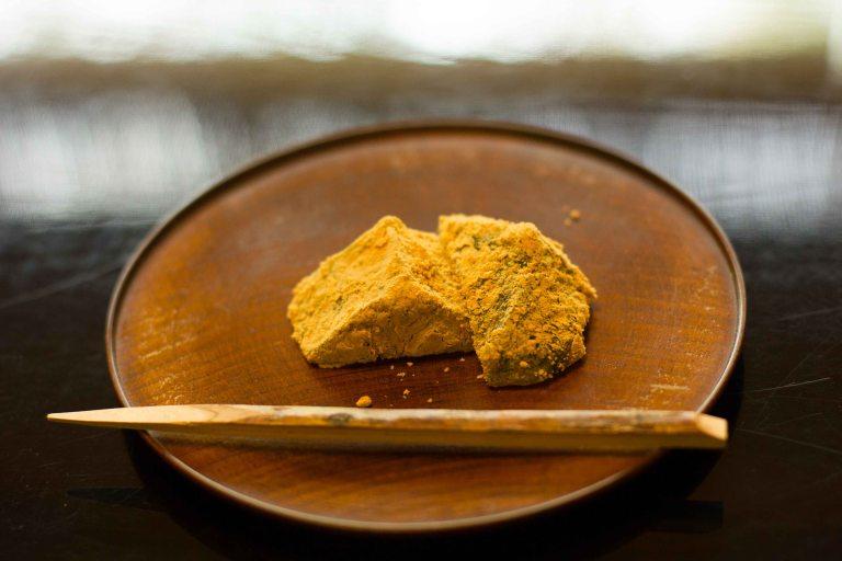 """""""Kikunoi Kyoto warabi mochi"""