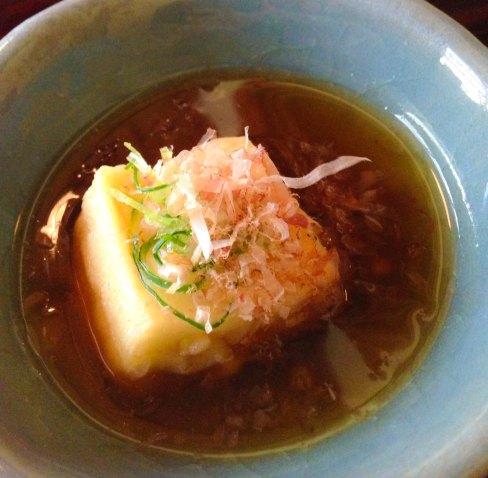 """""""Shoraian Kyoto agedashi tofu"""""""