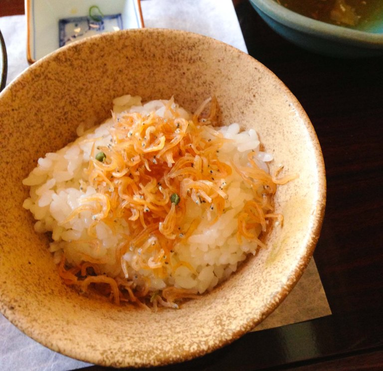 """Shoraian Kyoto  rice"""