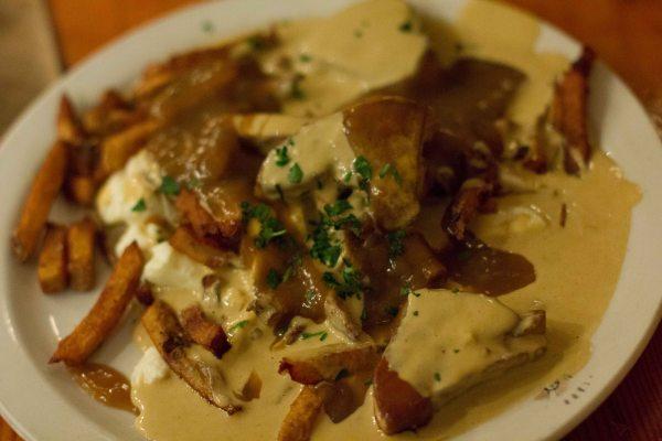 """""""Au Pied du Cochon Foie gras poutine"""""""