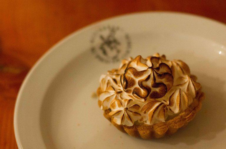"""""""Au Pied du Cochon lemon tart"""""""