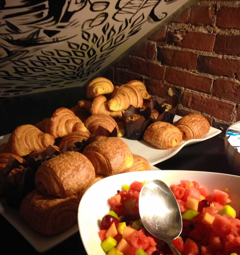"""""""Le Petit Hotel breakfast"""""""