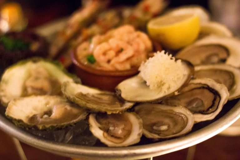 """Liverpool House Montreal oysters"""