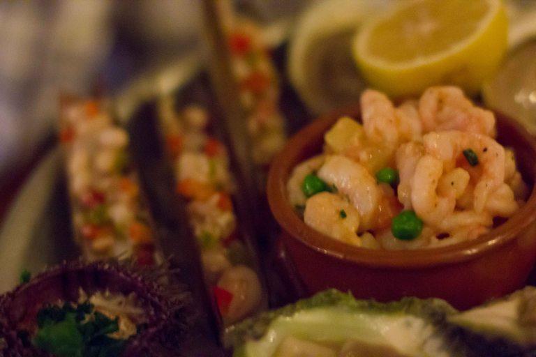 """Liverpool House Montreal shrimp"""