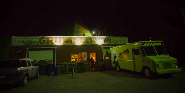 """Montreal Grumman 78 food truck"""