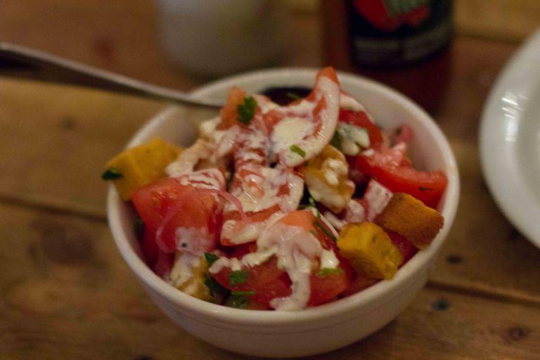 """Montreal Grumman 78 tomato salad"""