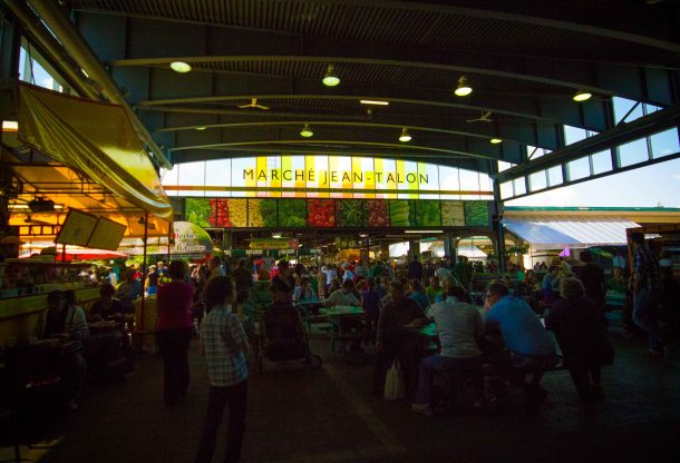 """Montreal Jean Talon market"""