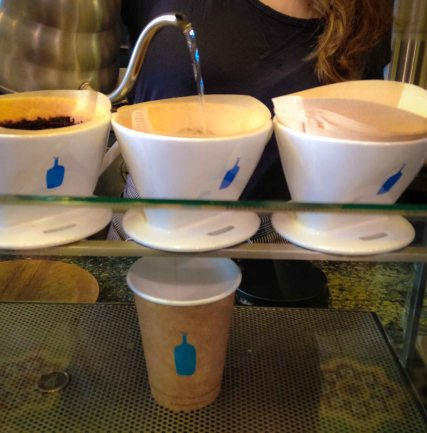 """blue bottle coffee NYC tribeca"""