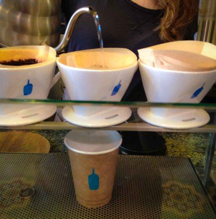 """blue bottle coffee NYC tribeca"""