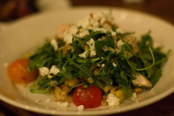 """Freemans arugula salad"""
