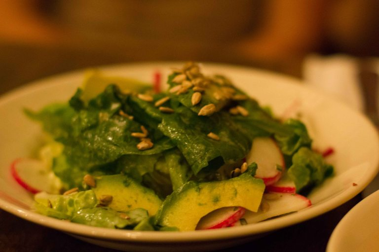 """Freemans bibb salad"""